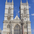 Towers of Westminster Abbey — Stock Photo