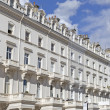 Stock Photo: Georgian Stucco front houses in London