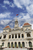 City Hall of Ho Chi Minh in Ho Chi Minh City, Vietnam. — Stock Photo