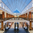 Interior of modern shopping center — Stock Photo