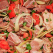 Mixed Meat Kebabs - Stock Photo