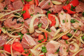 Mixed Meat Kebabs — Stock Photo