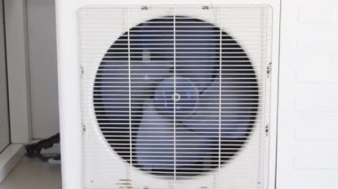 Air conditioning system closeup — Stock Video