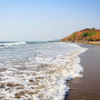 Stock Photo: View on ocecoast. Beautiful shores of Indiocean