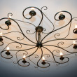 Old vintage chandelier  — Stock Photo