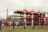 Fabbrica di raffinazione olio — Foto Stock