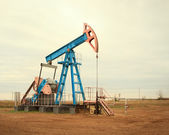Oil pump. Oil industry equipment. — Stock Photo