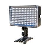 Video lighting LED, isolated on white background — ストック写真