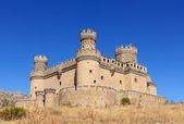 Old Castle Manzanares el Real near Madrid, Spain — Stock Photo