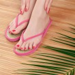 Female feet — Stock Photo #13887378