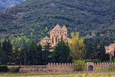 Monastery Santa Maria de Poblet, Spain — Stock Photo