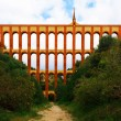 Aqueduct named El Puente del Aguila in Nerja, Andalusia, Spain — Stock Photo