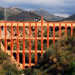 Aqueduct named El Puente del Aguilin Nerja, Andalusia, Spain — Stock Photo #26708669