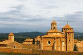 Monastero santa maria de poblet, spagna — Foto Stock