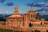 Monastery Santa Maria de Poblet, Spain — Stock Photo