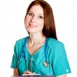 Portrait of female doctor — Stock Photo #2883345