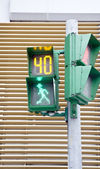 Traffic light color. 40 seconds. — Stock Photo