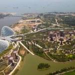 jardines junto a la bahía, Singapur — Foto de Stock