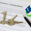 Royalty-Free Stock Photo: Tenancy agreement