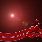 Sevgililer arka plan — Stok fotoğraf