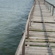 Abundance wooden jetty — Foto de Stock