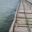 Stock Photo: Abundance wooden jetty