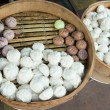Chinese steamed bun - Stockfoto