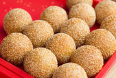 Sesame ball — Stock Photo