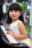 Piano lessons — Stock Photo