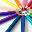 Color pencils — Stock Photo #23223106