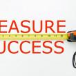 Measure success — Stock Photo