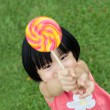 Royalty-Free Stock Photo: Kid with lollipop