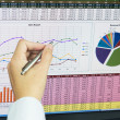 Business analysis — Stock Photo #27190811