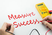 Measure of success — Stock Photo