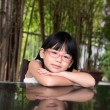 Little Asian girl — Stock Photo