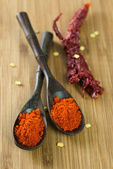 Red chilli powder — Stock Photo
