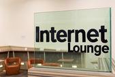Internet lounge — Stock Photo
