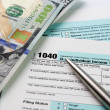 Stock Photo: Income Tax filing