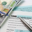 Income Tax filing — Stock Photo