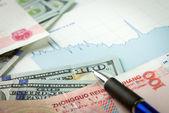 Currency exchange — Stock Photo