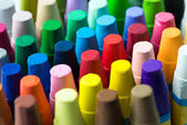 Stapel crayon — Stockfoto