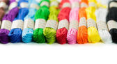 Embroidery thread  — Stock Photo