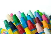 Stack of crayon — Stock Photo