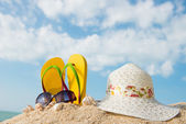 Summer at the beach — Stock Photo