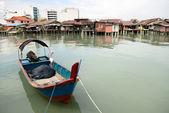 Pueblo de pescadores — Foto de Stock