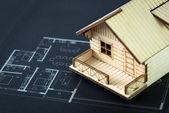Plan domu — Zdjęcie stockowe