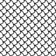 Vector de stock : Fish scales texture.