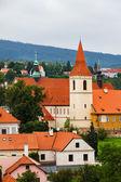 Cesky Krumlov, Czech Republic. — Stock Photo