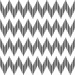 Seamless geometric zigzag pattern. — Stock Vector