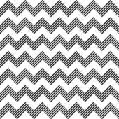 Nahtlose geometrisches zick-zack-muster. — Stockvektor
